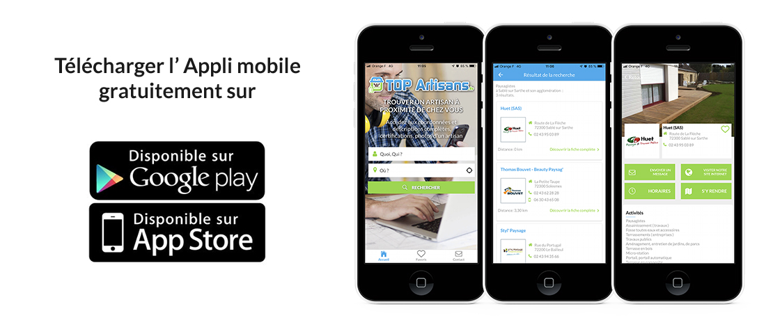 Lancement officiel de notre application mobile